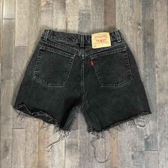 Levi's Pants - Vintage Levi's 560 custom cut off jean shorts!!!